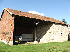 Barn and hangar