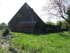 Side of barn