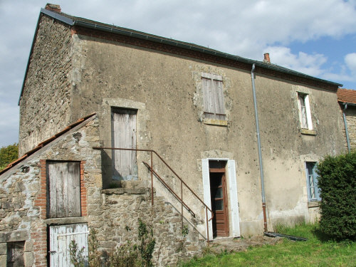 Back of house in france
