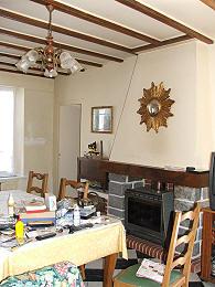 fireplace wih woodburner